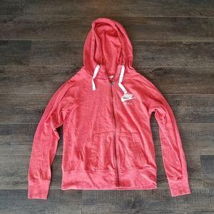 Medium Nike zip up hoodie